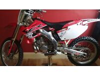 ROAD LEGAL 2003 HONDA CR 250CC 2 STROKE MAY PX 125 250 450 ETC ?? SWAPZ WELCOME ?? £2500 cash today.