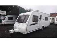 2010 Elddis Odyssey 540 4 berth caravan, FIXED BED, VGC, AWNING BARGAIN !