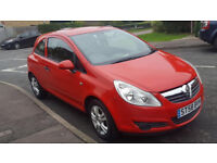 58 PLATE VAUXHALL CORSA ACTIVE ECOFLEX 1.3 CDTI,£30 ANNUAL ROADTAX, LADY OWNER, 12 MONTHS MOT, 97K