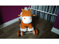 Rocking Horse with wheels