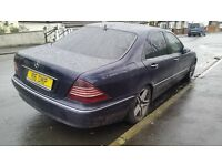 Mercedes-Benz S Class 3.2 S320 CDI 4dr start and drive very well
