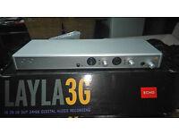 3 x Echo layla 3G audio interfaces