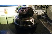 Cook works halogen oven