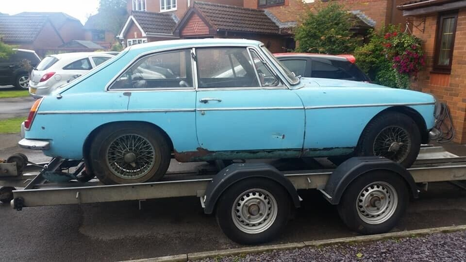 1967 MGB GT classic car for restoration spares repair or may break for  parts if not sold | in Ebbw Vale, Blaenau Gwent | Gumtree