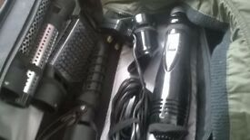 Remington hair curler/dryer/ straightener and more