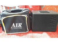 AER Compact 60/2 Acoustic guitar amplifier, excellent condition