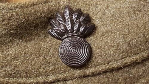 Pre WWI- WWI USMC Gunner/ Warrant Officer Insignia Pins, One Pair