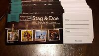 Stag and Doe Tickets For Sale !!!!