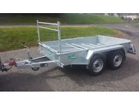VERY STRONT BUILDERS STYLE CAR TRAILERS 8X4 SIZE