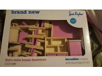 Sue Ryder Kid's dolls house furniture BRAND NEW