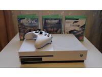 Xbox One S 1TB for sale with games