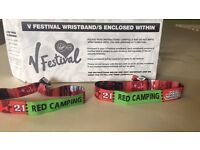 V Fest weekend camping tickets 2016