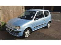 FIAT SEICENTO (BLUE) FOR SALE