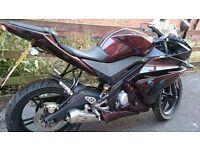 Yamaha R125 2008 Motorcycle - Bespoke Paintwork