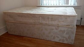 Kid's Double Bed -3/4 length in height