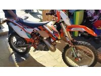 2012 KTM 200cc road legal px welcome