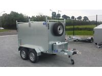 7x4x4 twin wheel galvanised box trailer brakes, suitable for driving instructor or window cleaner