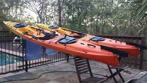 Selling two Perception SOT Sea Kayaks West End Brisbane South West Preview