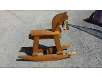 half price kids rocking horse toys see saw