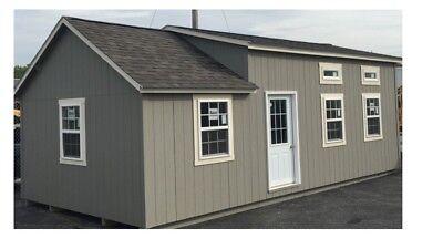 Tiny House Park Home Modular House Cottage Cabin 16 X 32 Customizable