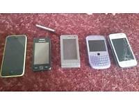 Phone bundle spares or repair