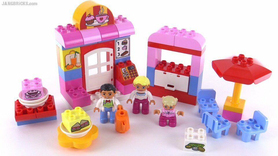 Mint Condition Lego Duplo 10578 Town Cafe In Box With Instructions