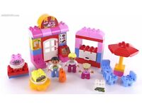 Mint condition Lego Duplo 10578 Town Cafe in Box with Instructions unwanted gift, played only once