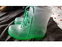 green boots for sale size 6 adult