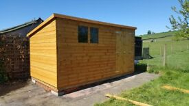 BRAND NEW MADE TO ORDER T&G SHIPLAP/ LOGLAP SHEDS FOR SALE BRAND NEW FREE DELIVERY AND FITTING