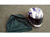 Mens motorbike helmet for sale