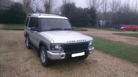 2003 (53 Plate) Land Rover Discovery Face Lift Model
