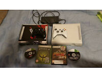 2 x box 360 with 2 controllers good condition