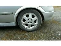 15 inch vauxhall alloys. Tyres ok. £60