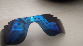 Oakley Radar Lock Path Vented Ice Iridium lens