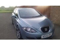 seat leon 1.6 reference 2006 06 newer shape low miles mot 1 year rotor alloys drives really well