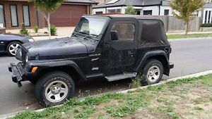 Jeep TJ Wrangler Wollert Whittlesea Area Preview