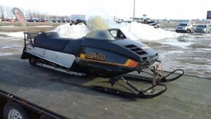 Looking to trade for bigger sled skidoo scandic 377 long track