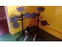 The Yamaha DTX450K Electronic Drum Kit