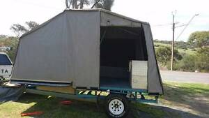 2009 Custom Built Flat Top Camper Trailer Port Lincoln Port Lincoln Area Preview