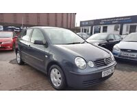 *IDEAL FIRST CAR* VOLKSWAGEN POLO TWIST 1.4 (2004) - 5 DOOR - LONG MOT - 2 KEYS - HPI CLEAR!