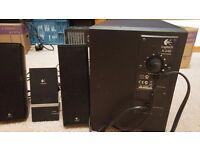 LOGITECH SPEAKER SET X-240 SURROUND SOUND