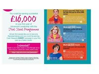 Team Leader £16,000 bonus plus commission