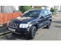 jeep grand cherokee 03 plate 4.0 petrol gas converted 88k miles swap/px