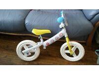 BRAND NEW Peppa Pig balance bike