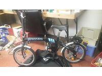 proteam fold away bike