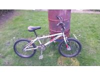 unisex magna bmx bike fully serviced new seat now fitted has marks but still perfectly usable