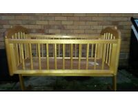 WOODEN CRADLE (BED) FOR CHILDREN