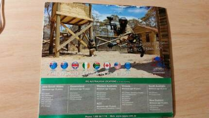 IGP Paintball tickects Canberra Region Preview