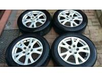 Genuine mazda alloy wheels 16 inch pcd 5x114.3