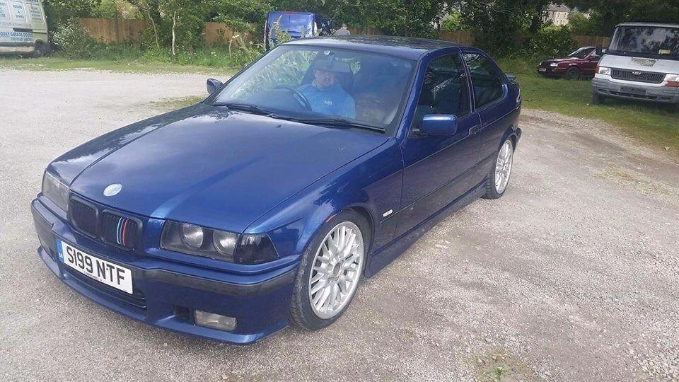 BMW E36 COMPACT 318 TI SPORT,DRIFT CAR,CONVERSION,PROJECT,EASY FIX!SPARES OR REPAIR!